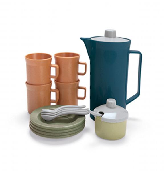 Dantoy BIO PLAST Kaffeeservice Set 17 Teile