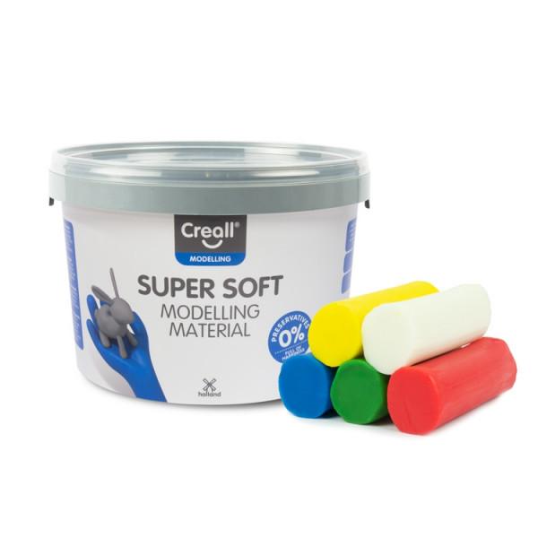 Knete Creall Super Soft, farblich sortiert