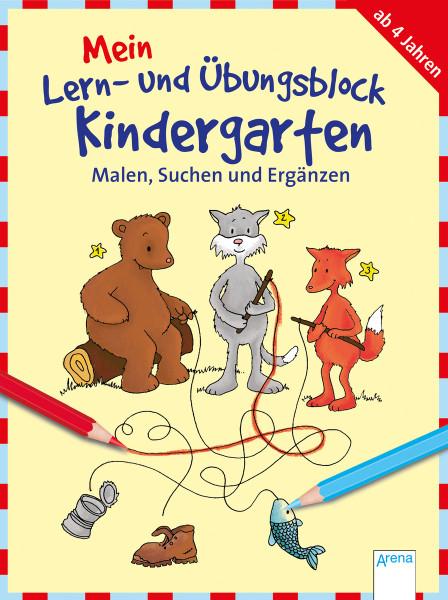 Mein Lern- und Übungsblock Kindergarten