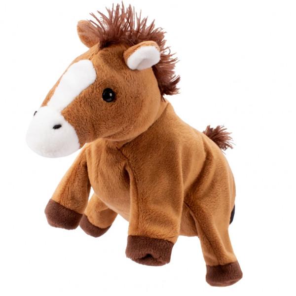 Handpuppe Pferd