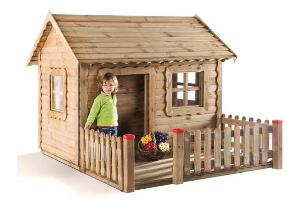 "Spielhaus ""Lucas"" - Holzhaus mit Veranda"