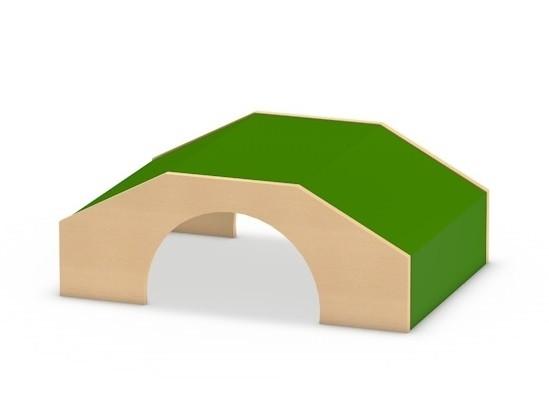 Spielpodest Tunnel klein