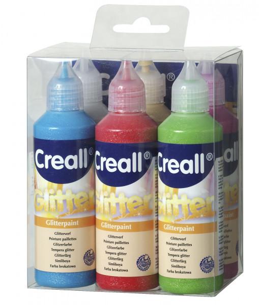 Creall Glitter im 6er-Pack