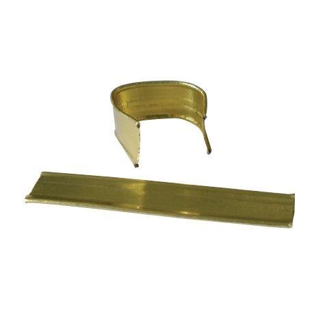 Verschlussclips gold
