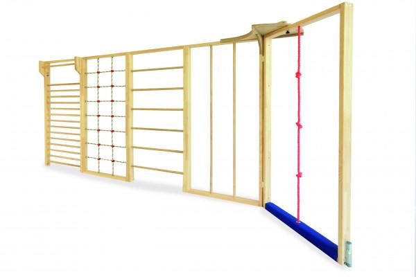 Multi-Turnwand 5-tlg. mit Seilelement