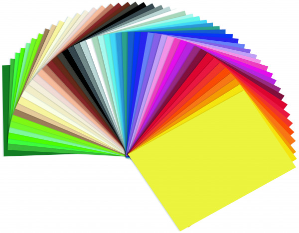 Tonpapier 130 g, DIN A4 - 100 Blatt einer Farbe