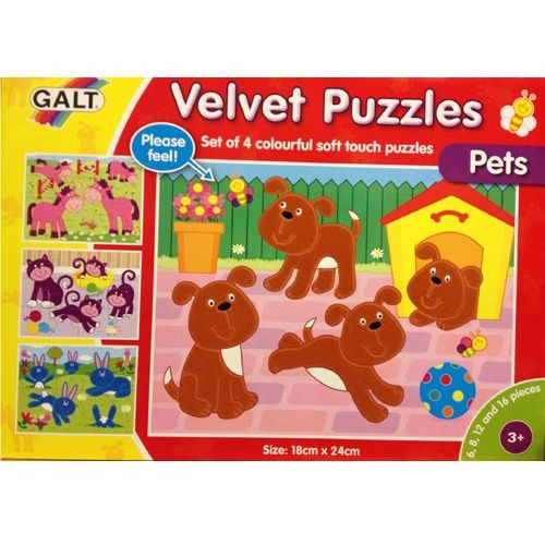 "Tast-Puzzle ""Haustiere"""
