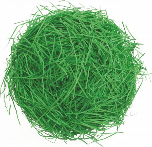 Dekogras aus Papier, grün
