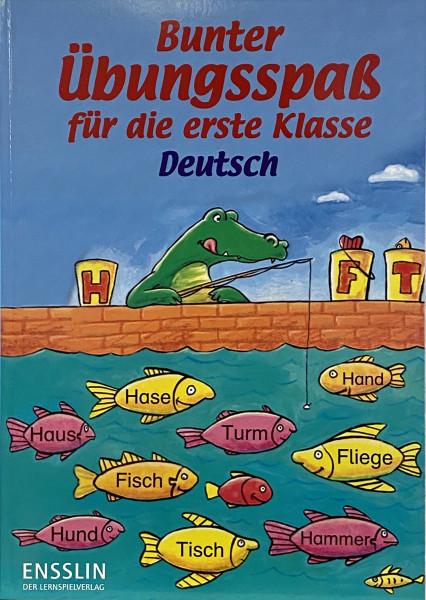 Bunter Übungsspaß für die 1 Klasse, Deutsch