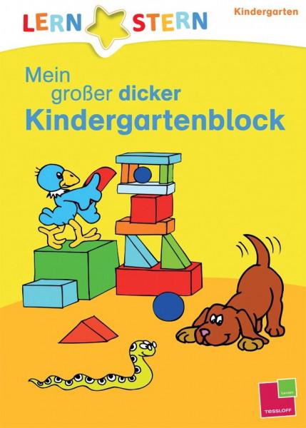 Mein großer dicker Kindergartenblock