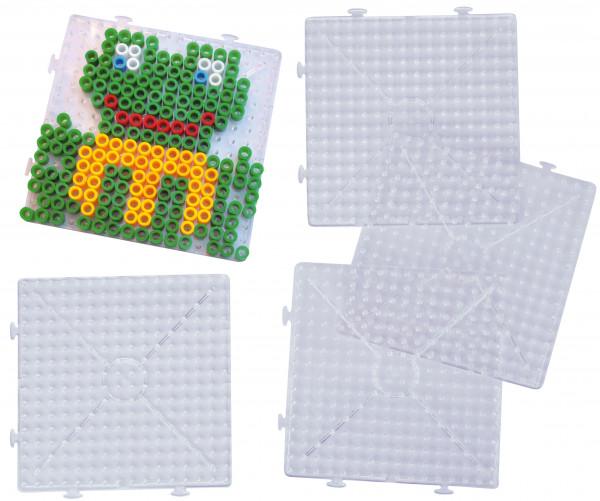 Steckplatten XL für Bügelperlen Set 5 Stück