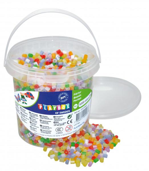 Bügelperlen Perlmutt-Mix