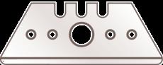 Ersatzklingen f. Cutter 14020101 Sicherheitsmesser