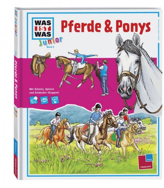 Was ist was Junior Bd. 5 Pferde und Ponys