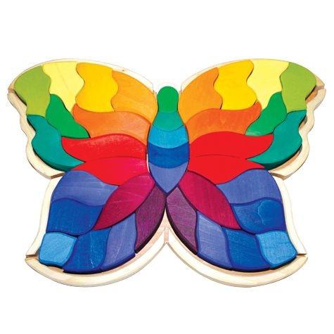Schmetterling Puzzle