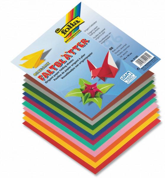 Faltblätter aus Origamipapier