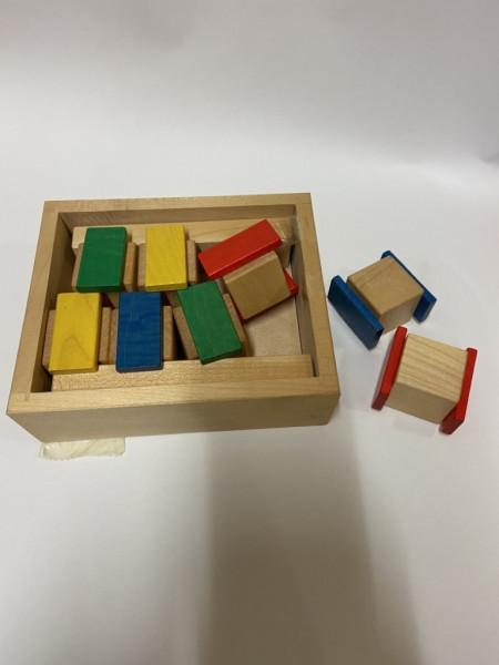 Steckspiel aus Holz