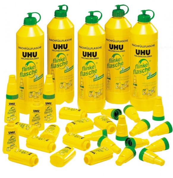 UHU Kita-Set ohne Lösungsmittel inkl. Leerflaschen