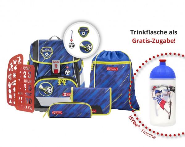 Schulranzen-Set Soccer Team - Step by Step - 2IN1 PLUS