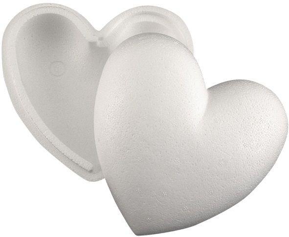 Styropor Herz teilbar