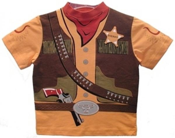 Kostüm T-shirt Sheriff