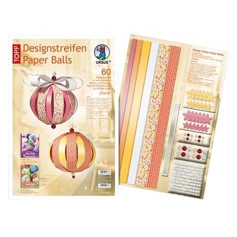 """Designstreifen Paperballs """"Claire"""""""