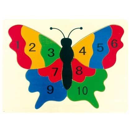 Puzzle Schmetterling