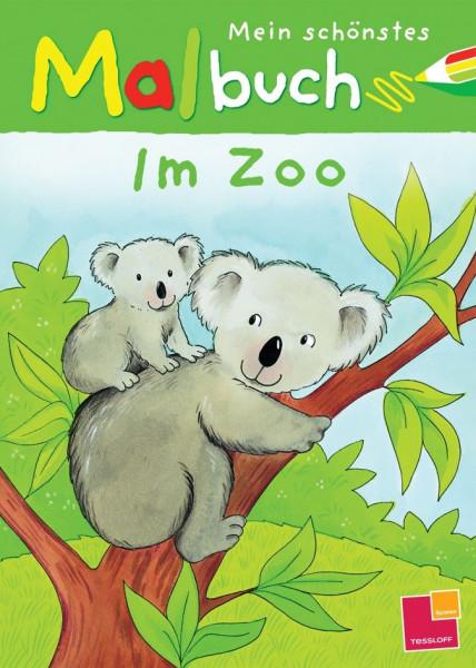 Mein schönstes Malbuch. Im Zoo