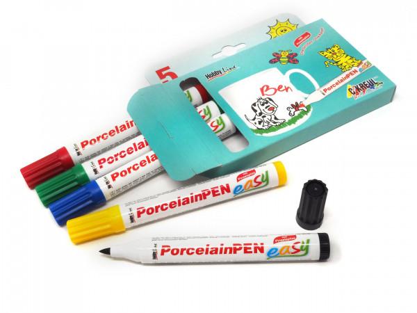 Porzellan-Painter SET Kreul 5 Stifte