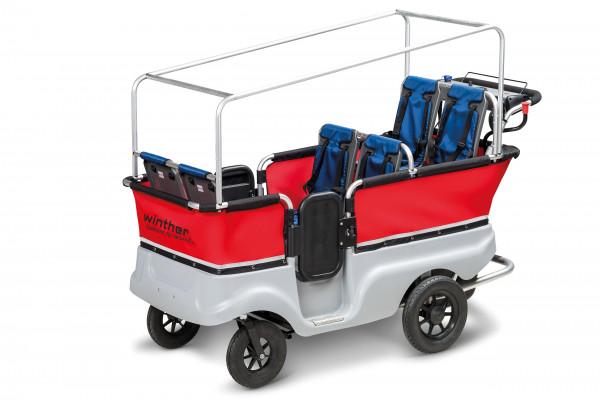 Winther E-Turtle Kinderbus für 6 Kinder