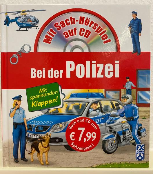 Bei der Polizei - Buch inkl. Hörspiel