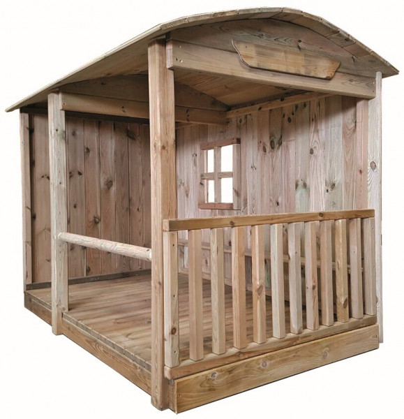 Ponyhaus ROSE aus Massivholz
