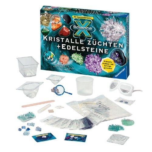 ScienceX Kristalle züchten + Edelsteine