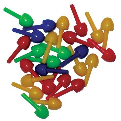 Stecker Plastik farb sort. matt S.247