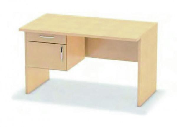Schreibtischunterbau mit Schubkasten
