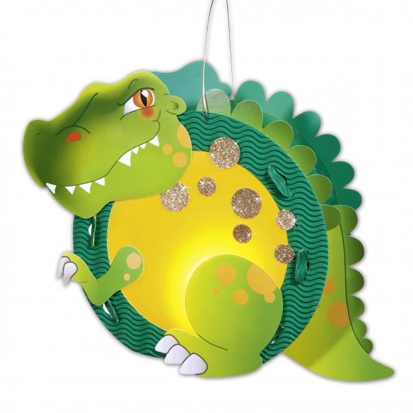 Laternen-Bastelset T-Rex