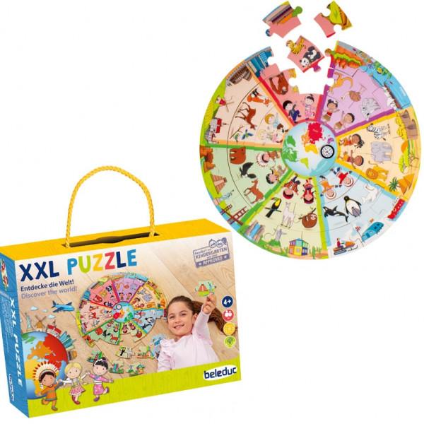 """XXL Lernpuzzle """"Entdecke die Welt"""""""
