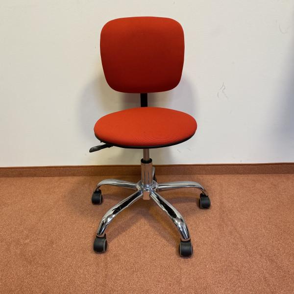 2. Wahl Bürostuhl rot Stoff