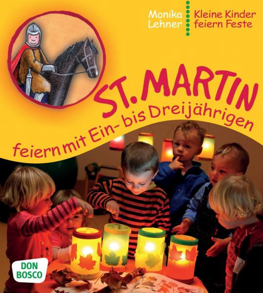 St. Martin feiern mit Ein- bis Dreijährigen