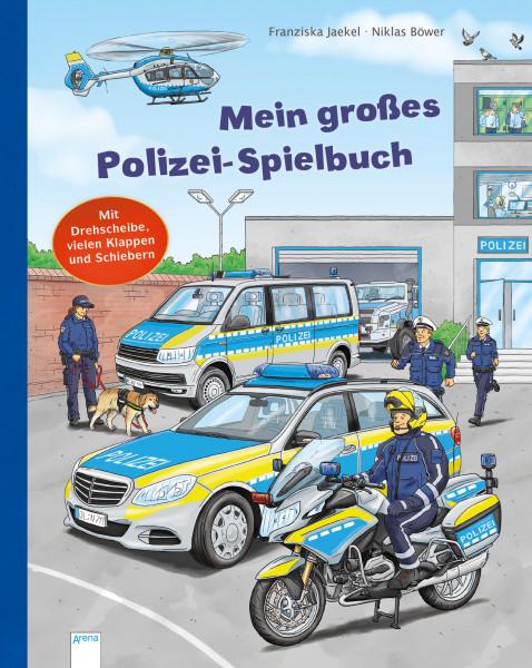 Mein großes Polizei-Spielbuch