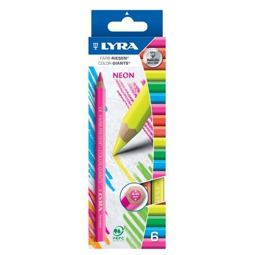 Lyra Farb-Riesen Neonfarben