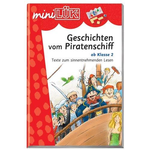 mini LÜK Geschichten vom Piratenschiff