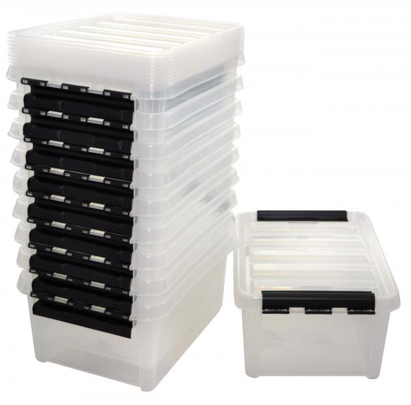 Aufbewahrungsbox mit Deckel, groß