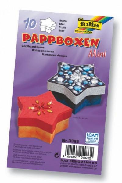 """Pappboxen mini """"Stern"""""""