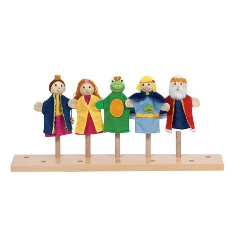 Fingerpuppen-Set Froschkönig