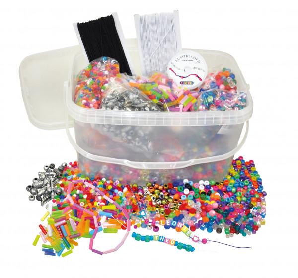 Kunststoff-Perlen Starterset