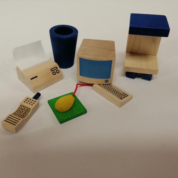 Office-Set für Puppenhaus
