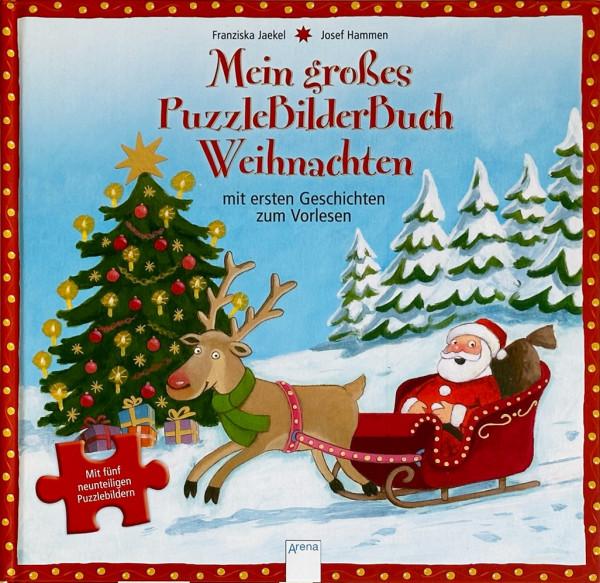 Mein großes Puzzle-Bilder-Buch Weihnacht