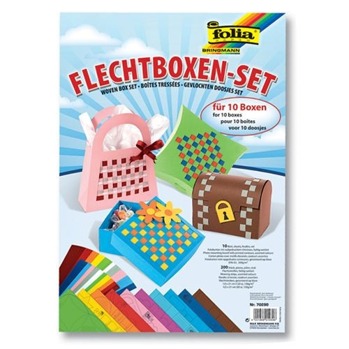 "Flechtboxen-Set ""Ganzjahr""f.10 Boxen"