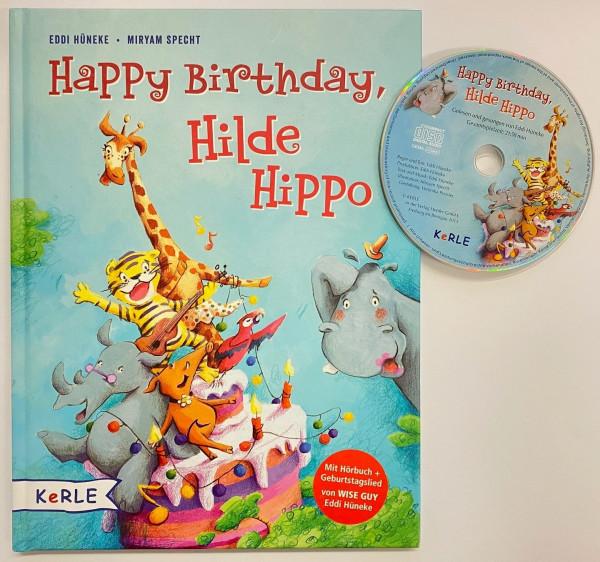 Happy Birthday, Hilde Hippo! Buch mit Hörbuch